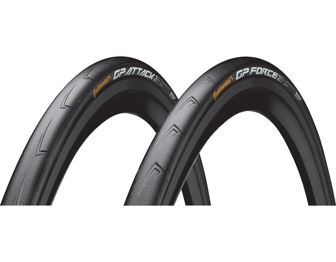 Continental Attack Force Grand Prix III Set 700x23/25 (NEW!) by Continental Tire
