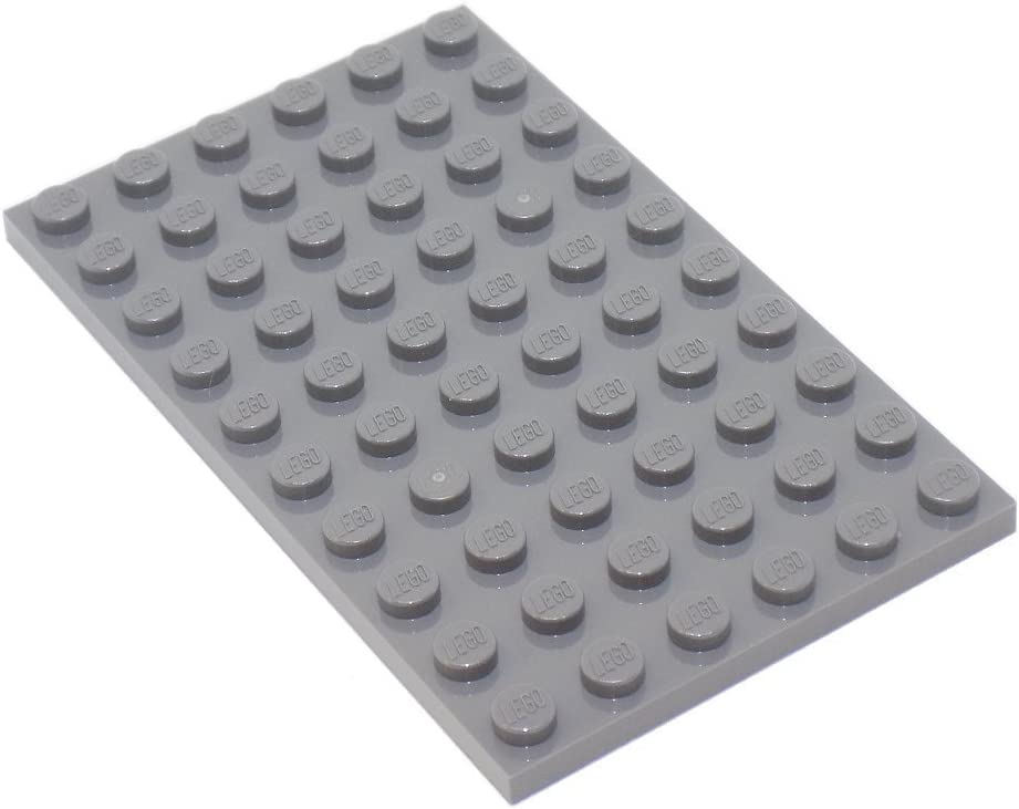 Lego plate 6x10 Dark Grey//Dark Gray