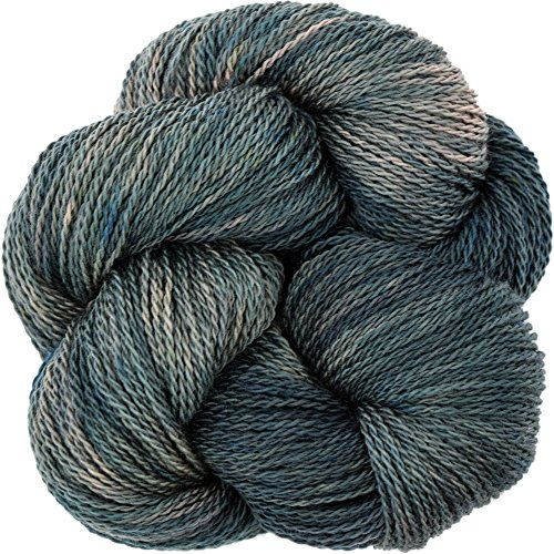 (Living Dreams Yarn EcoLana. CERTIFIED ORGANIC MERINO. Cruelty Free & Responsibly Sourced. Hand Dyed in the USA. Abalone)