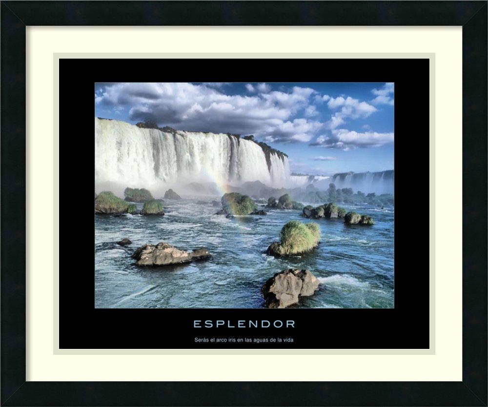 Framed Art Print 'Esplendor'