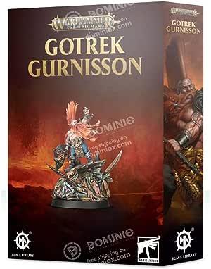 Age Of Sigmar Games Workshop Warhammer Gotrek Gurnisson