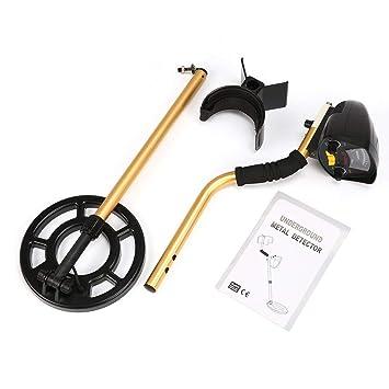 JullyeleESgant MD3009II Detector de Metales Subterráneo Profesional Manual Treasure Hunter Buscador de Buscadores de Oro Impermeable Sensible Ajustable: ...