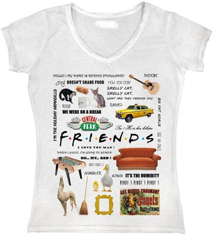 Friends - Camiseta - para mujer: Amazon.es: Ropa y accesorios