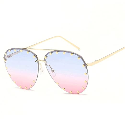 Amazon.com: Dormery Women Rivet Sunglasses-women Sun Glasses ...