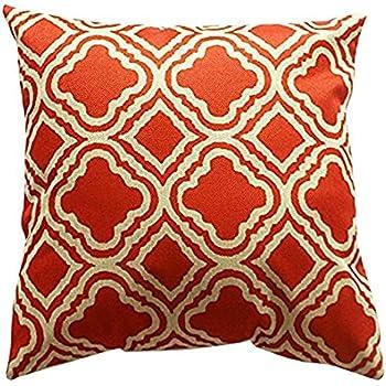 Amazon Lydealife Throw Pillow Cushion Cover Argyle Pattern
