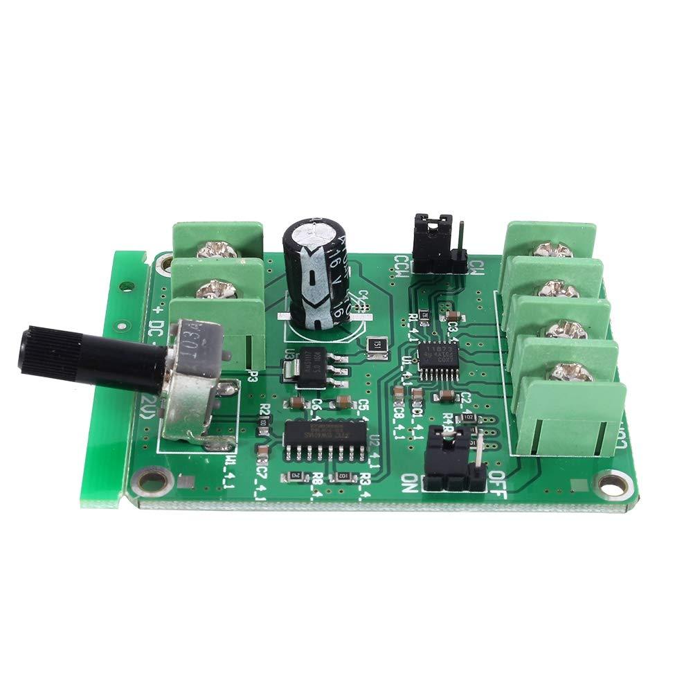 Motor Driver 5V-12V DC Brushless Driver Board Controller for Hard Drive Motor 3//4 Wire
