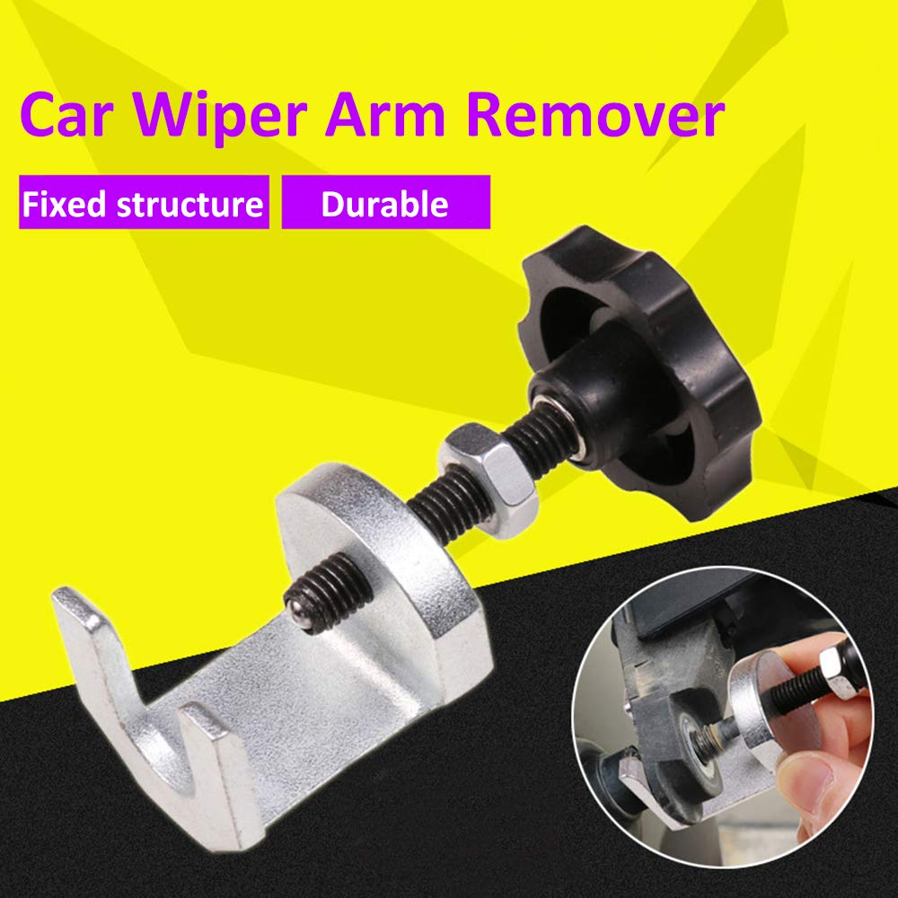 Fesjoy Wiper Arm Puller,Windshield Wiper Tools,Wiper Arm Removal Special Tool