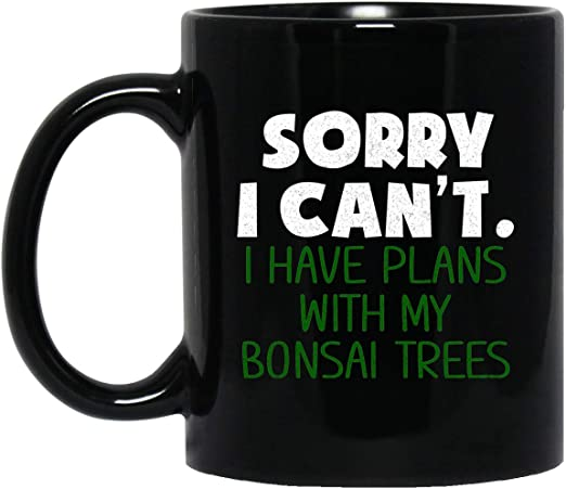 com bonsai tree zen coffee mug bonsai lover gift bonsai