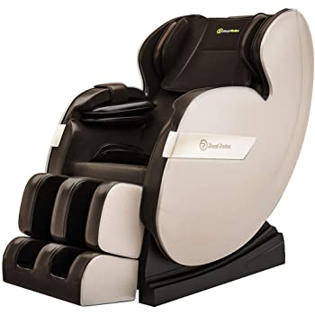 Real Relax 2020 Massage Chair, Full Body Zero Gravity Shiatsu Recliner