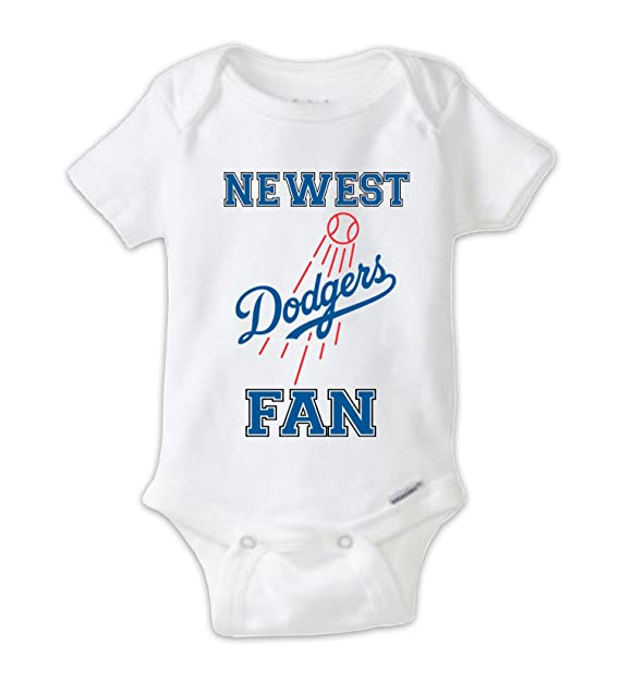 Amazon Com Juju Apparel Newest Dodgers Fan Baby Bodysuit Dodgers