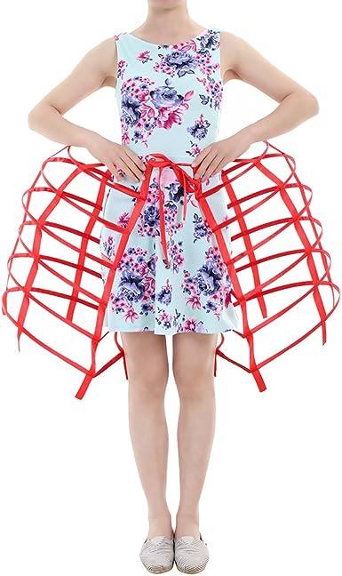 Elizabeth Crinoline Hoop Skirt Pannier Bustle Petticoat Cage Underskirt Costume