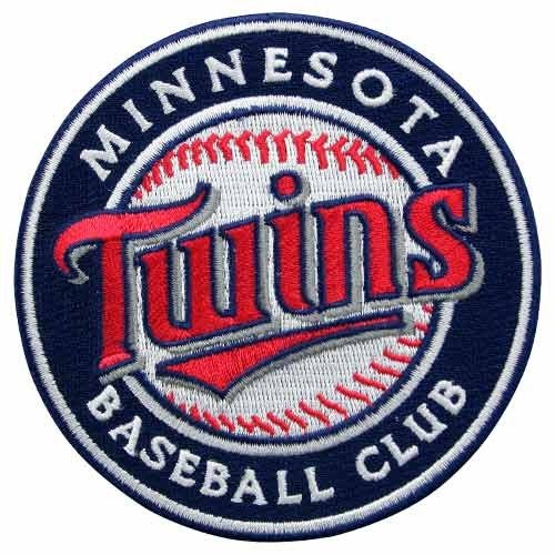 (MLB Minnesota Twins Embroidred Team Logo Collectible Patch)