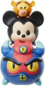 "Disney Tsum Tsum Series 3 Tigger, Mickey & Fred 1"" Minifigure 3-Pack #149, 102 &351"