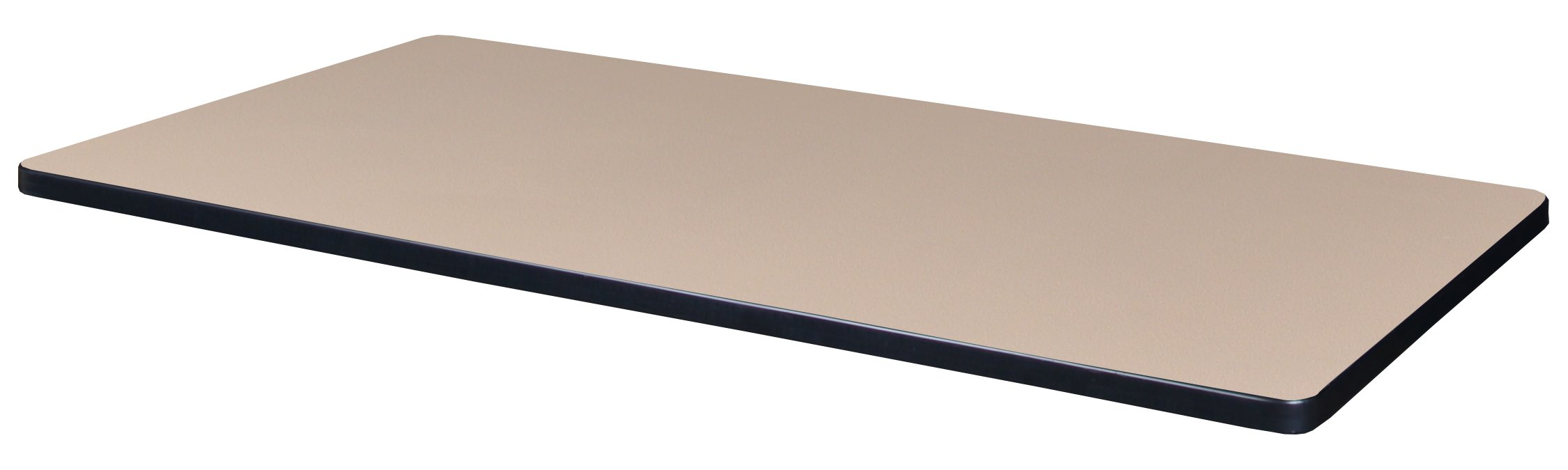 Regency Beige/Grey 48'' x 24'' Rectangle Laminate Table Top