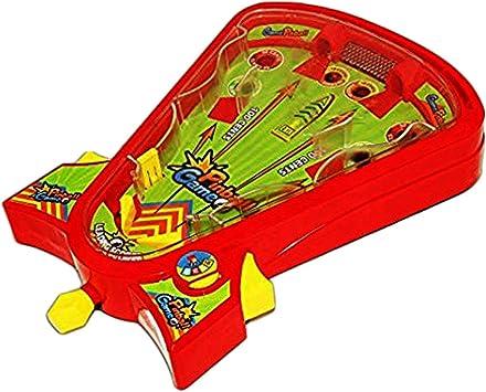 Toy Cubby Tablero Pinball Juego de Escritorio Arcade Pin Juego de ...