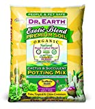 Dr. Earth Exotic Blend Cactus & Succulent Potting Mix 8 qt