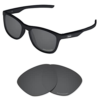 44746911a7 Tintart Performance Lenses Compatible with Oakley Trillbe X Polarized Etched -Carbon Black