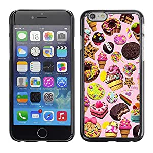SKCASE Center / Funda Carcasa - Helado de la galleta rosada;;;;;;;; - Apple Iphone 6 Plus 5.5