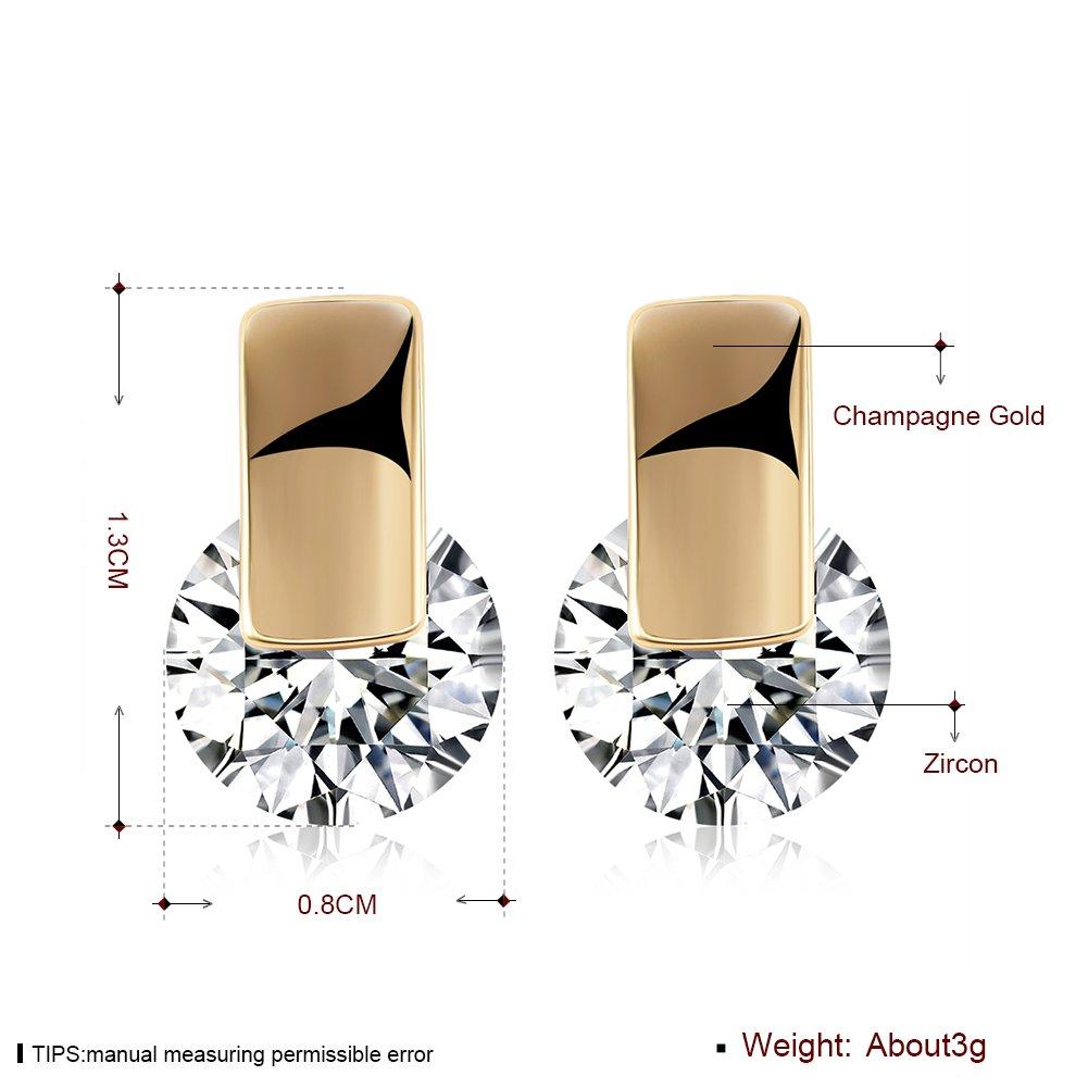 Earrings Crystal Gem Personalized Charm 2018 New Earrings KD272 LEKANI Ms