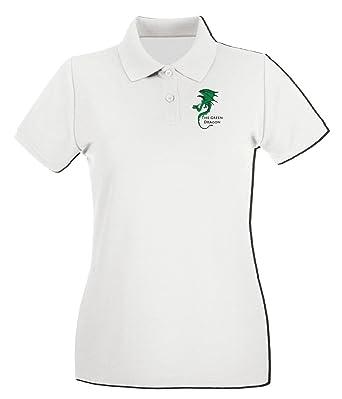 T-Shirtshock - Polo para mujer TIR0261 The Green Dragon, Talla L ...