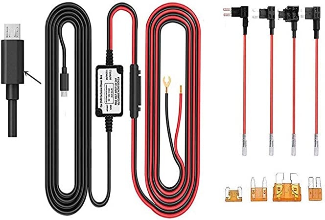 Dash Cam Hardwire Kit Rechter Winkel Micro Usb Elektronik