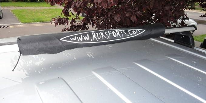 RUK Barra De Techo Portaequipajes Cojines Almohadillas para Tabla de Surf de Canoa Kayak (par) 72cm: Amazon.es: Deportes y aire libre