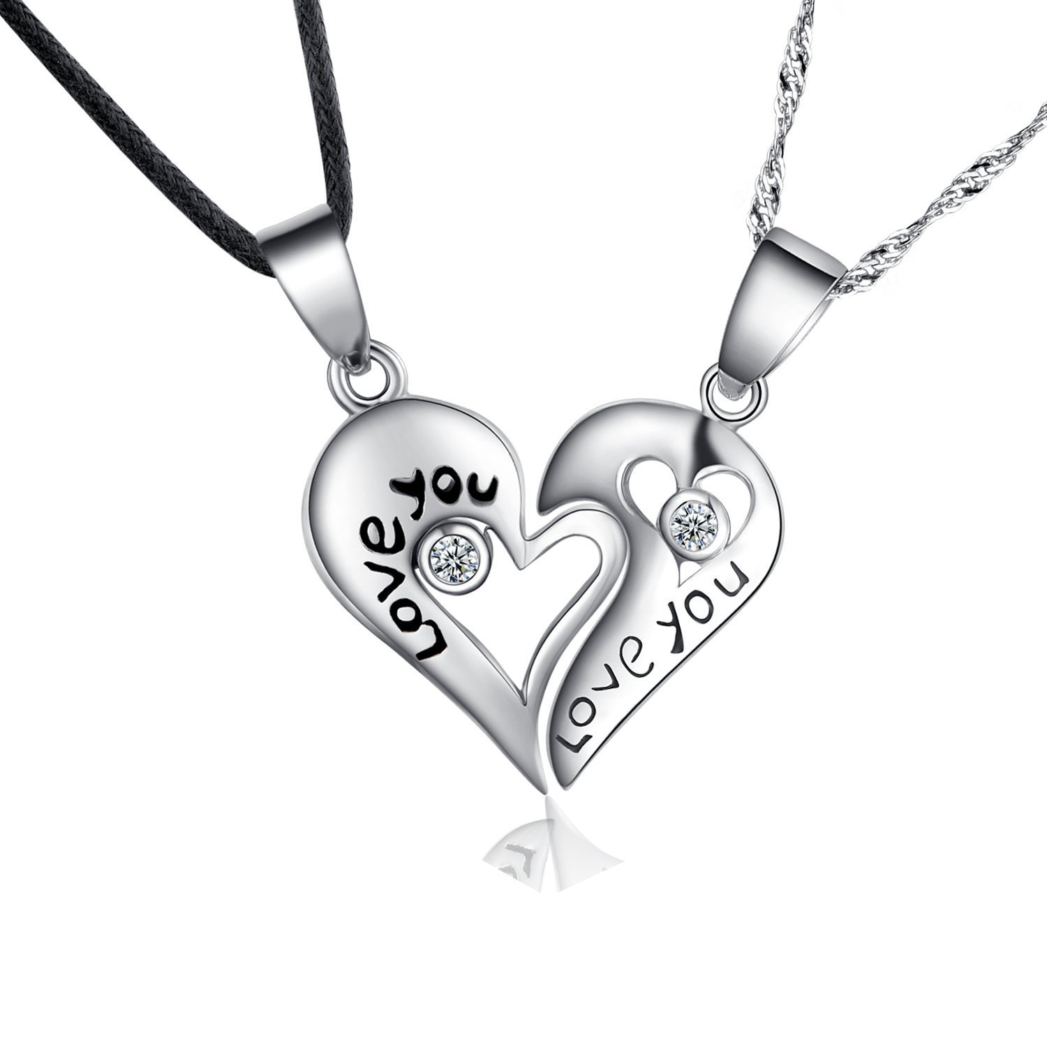 steel polished stainless heart dangle toni bijoux product jewelry jewellery necklace