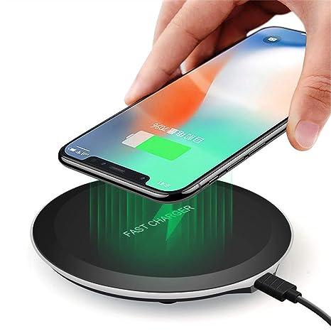 Amazon.com: CRZJ Qi - Cargador inalámbrico portátil mini de ...