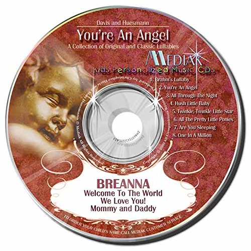 Gombita Enterprises Children's Personalized MEDIAK Music CD - You're An Angel -