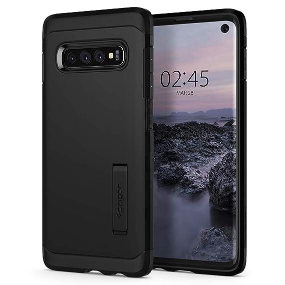 best sneakers 6a829 b72f3 Spigen Tough Armor Designed for Samsung Galaxy S10 Case (2019) - Black