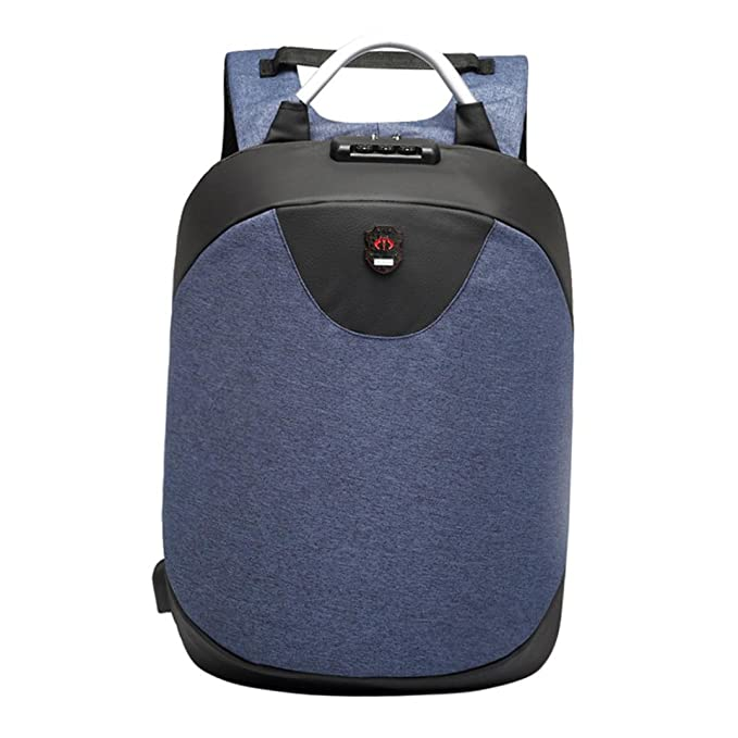 Bolso de alta capacidad del ordenador portátil de la mochila antirrobo multifuncional de la moda con