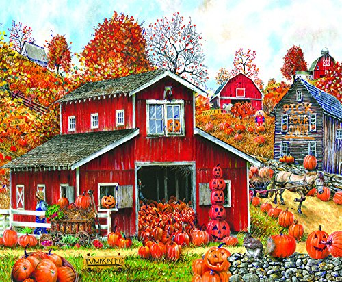 Pick Your Own Pumpkin 1000 Piece Jigsaw Puzzle by SunsOut