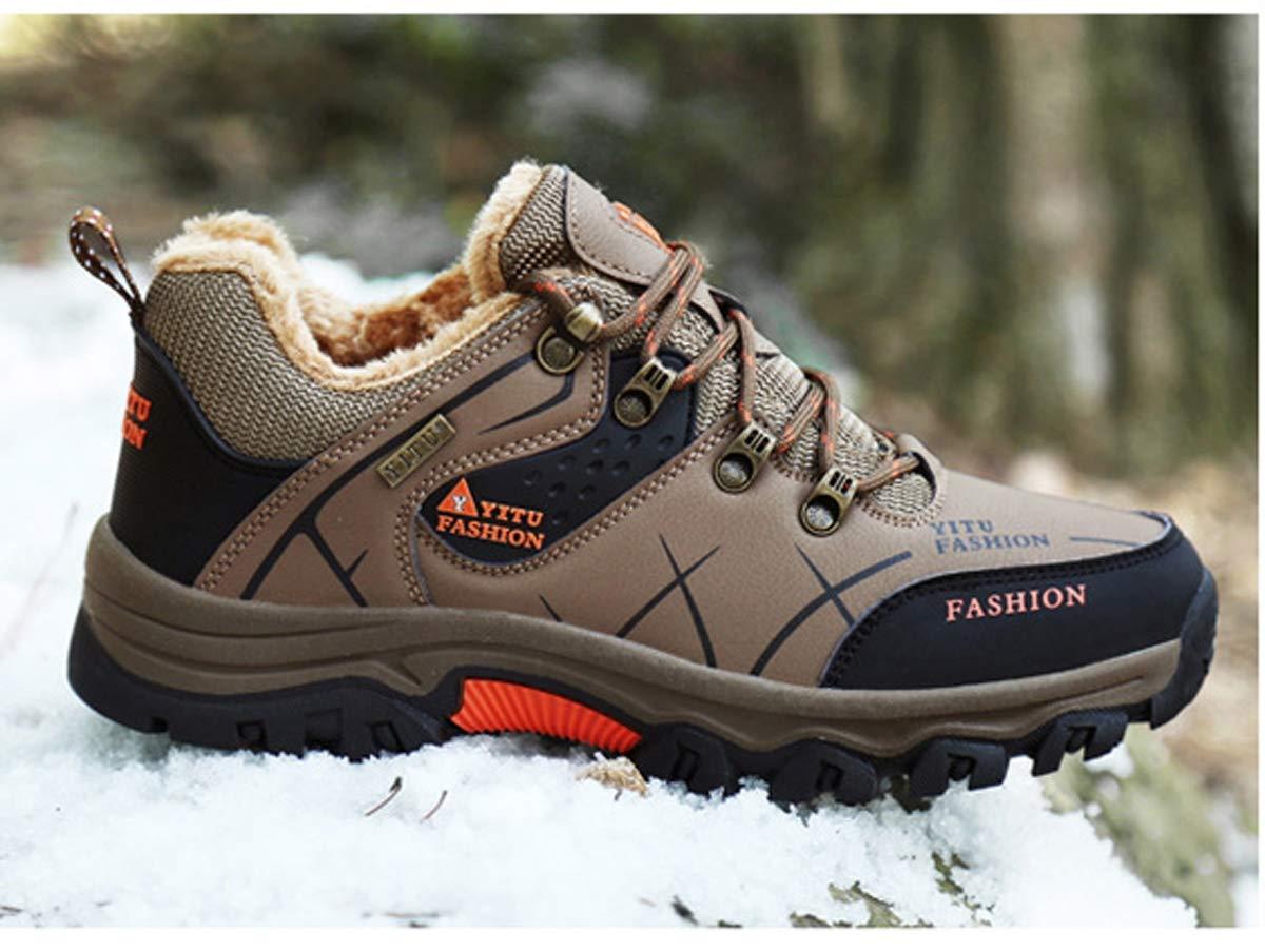 Adong Herren-Wanderschuhe Wasserschaufeln Jungle Jungle Jungle Trekking Schuhe Sicherheitsschuhe Leichtbau-Wanderschuhe für Herbst und Winter,C,43EU e43035