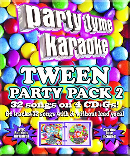 Party Tyme Karaoke - Tween Party Pack 2 [4 CD][32+32-Song Party (Party Tyme Karaoke Dvd)