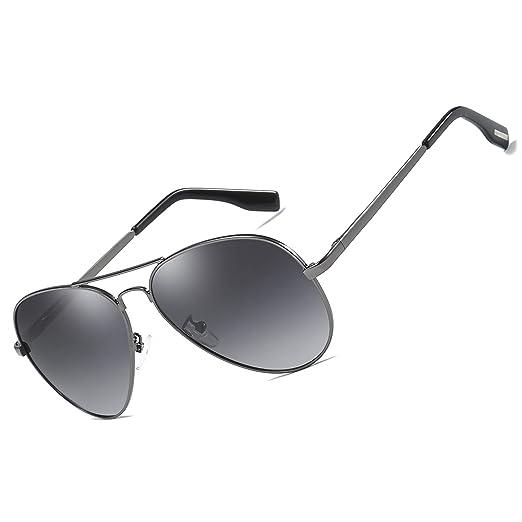 5154d4f2d5e0 Men Classic Aviator polarized Sunglasses 100% UV Protection Driving Sun  Glasses