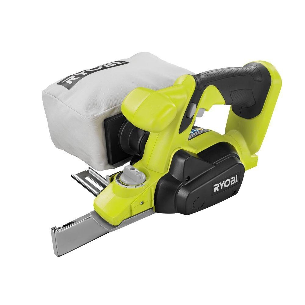 Ryobi P610G 18-Volt One+ 1-1/2 in. Hand Planer Green (Tool Only - Battery and Charger NOT Included)