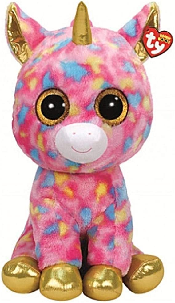 TY T99998 99998 Fantasia, Unicornio con Ojos Brillantes, Peluche, Multicolor, 72 cm: Amazon.es: Juguetes y juegos