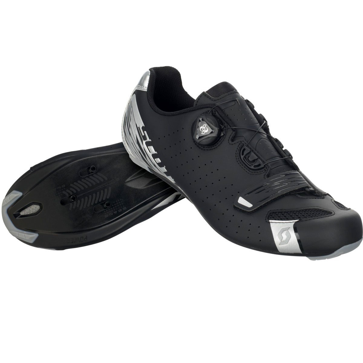 Scott - schuhe scott road comp boa schwarz Silber boa closure system - road comp boa - 42