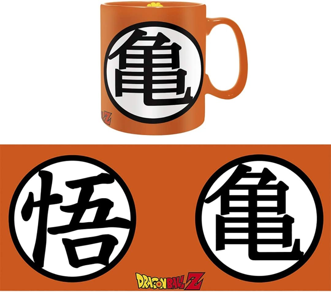 Dragon Ball Z Goku Vegeta Taza Heat Reactive Colorful Ceramic Cup Coffee Mug