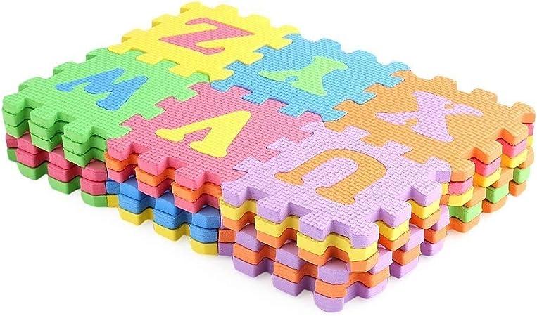 aprendizaje Abecedario Número Puzle rompecabezas alfombra Letras ...
