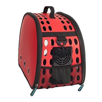 Muzyo Bolsos para Perros Pet Travel Carrier Hombro Pequeños Perros Gatos Bolsa De Plegable Portátil Al Aire Libre Transpirable Pet Bolsa Cuna portátil para ...