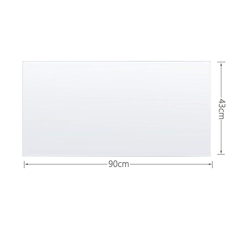 30x30 BUBM Clear Desk Pad Table Mat PVC Rectangular PVC Table Cover Desk Pad Mat for Office /& Computer Desk