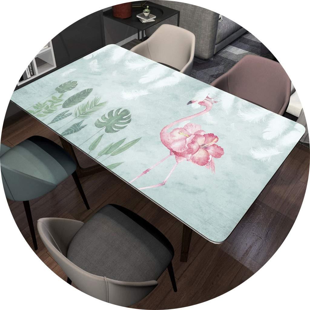 長方形ポリ塩化ビニールのテーブルクロス、テーブルのコーヒーテーブルのオイルクロス-1.5mmのための防水デスクトップの保護装置 CFJRB (Color : PVC, Size : 90X160cm) 90X160cm PVC B07SQ1696F