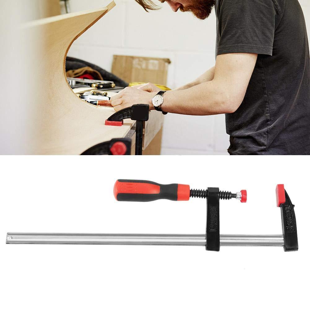 4Pcs Abrazaderas F de Trabajo Pesado Clips de Barra Abrazadera de Carpinter/ía Kit de Herramientas de Mano de Bricolaje R/ápido 50 300mm