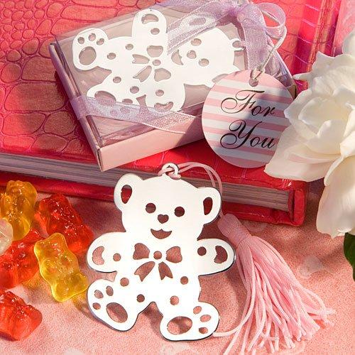 (SALE - FASHIONCRAFT Lovable Teddy Bear Design Bookmarks Pink )
