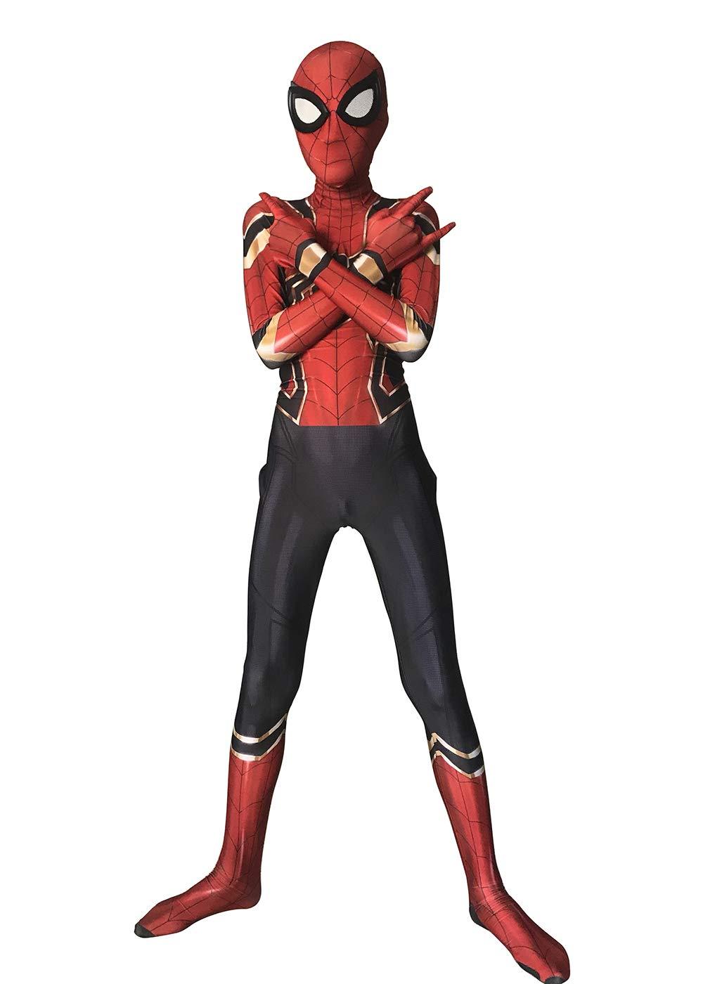 - 61xBKkQLBUL - Piezone Adult Kids Halloween Lycra Suit Spandex 3D Zentai Cosplay Costumes