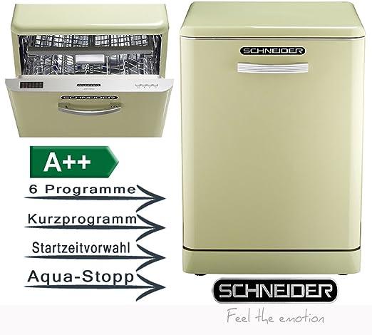 Schneider Comsumer GSP 14 SG A++ lavavajilla Independiente 14 ...