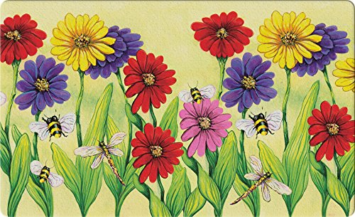 Toland Home Garden 830215 Zinnia Flight 18