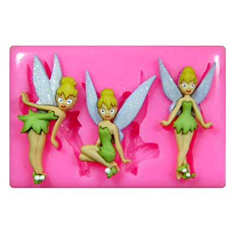 TINKERBELL SITTING FAIRY Chocolate Candy Soap Mold