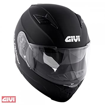 Givi - Casco integral 50.5 Tridion, talla M, color negro mate